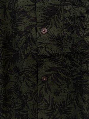 HYMN London 'CHIP' Tropical Leaf Resort Shirt