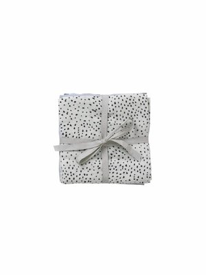 ferm LIVING Muslin Squares - Mini Dot - Set of 3