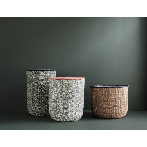 ferm LIVING Braided Floor Baskets (Set of 3)