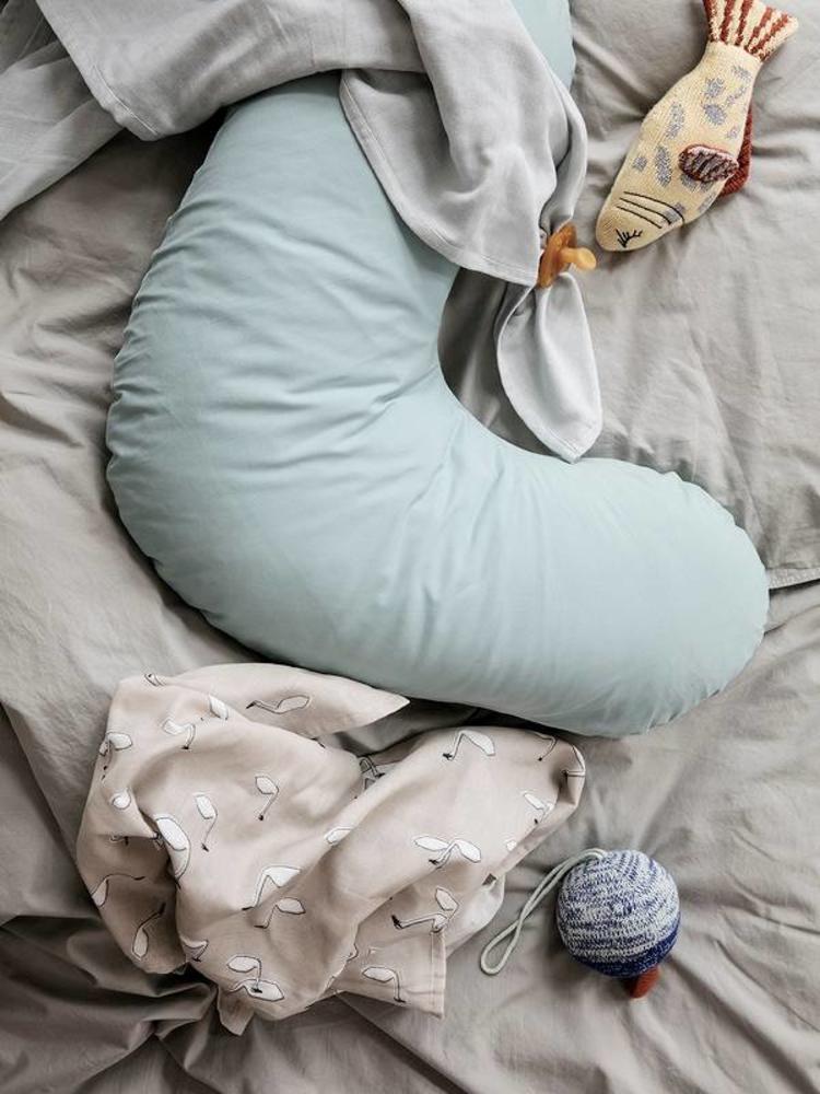 ferm LIVING ferm LIVING Hush Nursing Pillowcase - Dusty Blue