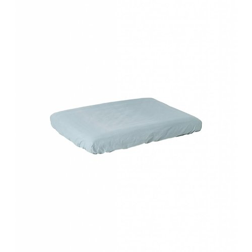 ferm LIVING Hush Changing Fitted Sheet - Dusty Blue