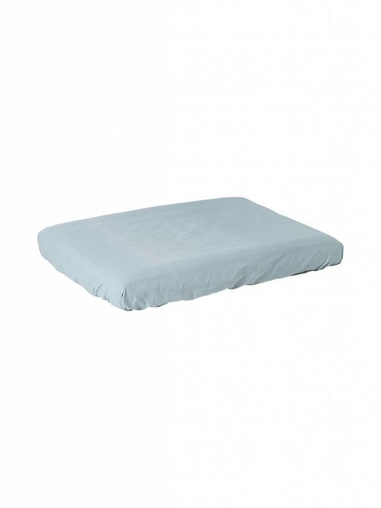 ferm LIVING ferm LIVING Hush Changing Fitted Sheet - Dusty Blue