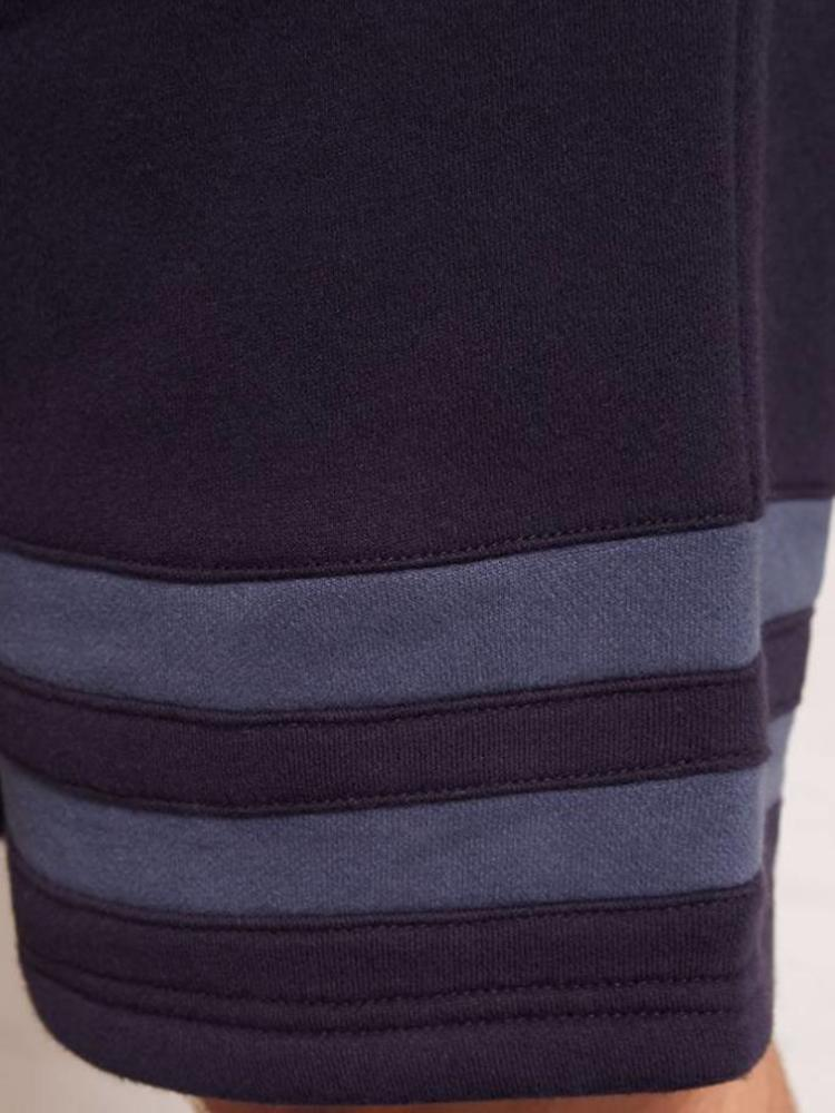 HYMN London Hymn 'AGASSI' Navy Stripe Jersey Short
