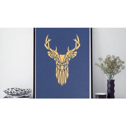 hello I like this shop Laser Cut Art - Deer