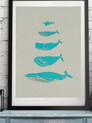 hello I like this shop Laser Cut Art - Whales