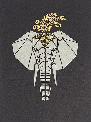 hello I like this shop Laser Cut Art - Elephant