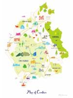 Holly Francesca Map of Cumbria A3