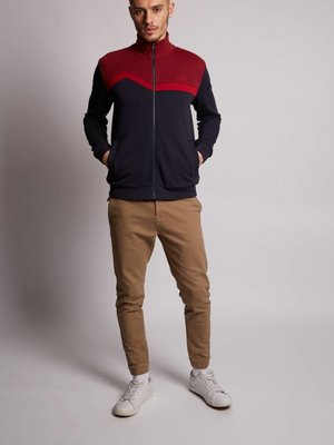 HYMN London 'HORIZON' Red Mountain Range Track Top