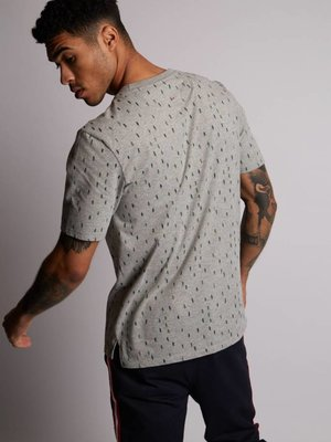 HYMN London 'TREES' Forest All Over Print Grey T-Shirt