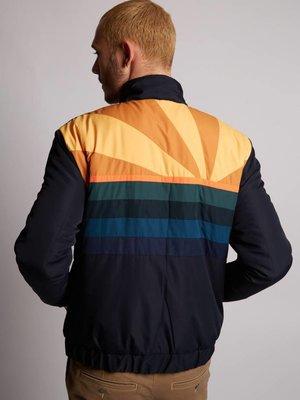 HYMN London Hymn 'SUNSET' - Navy Ski Style Bomber Jacket