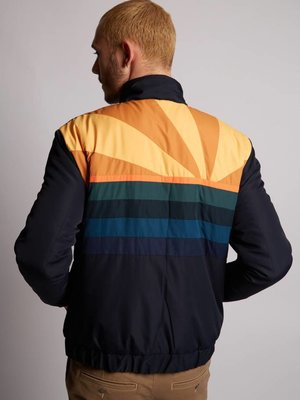 HYMN London 'SUNSET' - Navy Ski Style Bomber Jacket