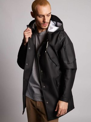 HYMN London 'JIMMY' Waterproof Rain Coat - Khaki, Black or Navy