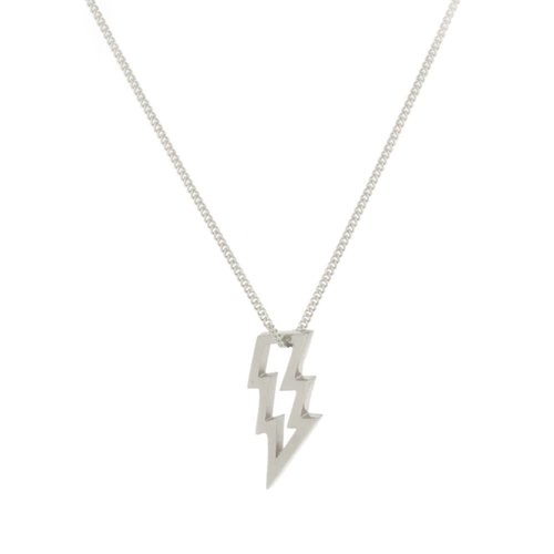 Laura Gravestock Struck Silver Necklace
