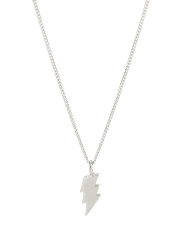 Laura Gravestock Laura Gravestock Dainty Lightning Necklace Sterling Silver