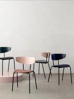 ferm LIVING Herman Chair Upholstered - Black Legs
