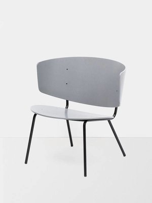 ferm LIVING Herman Lounge Chair Grey