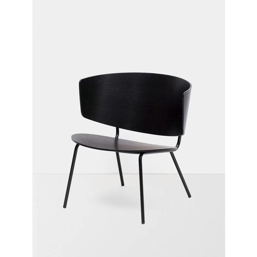 ferm LIVING Herman Lounge Chair Black