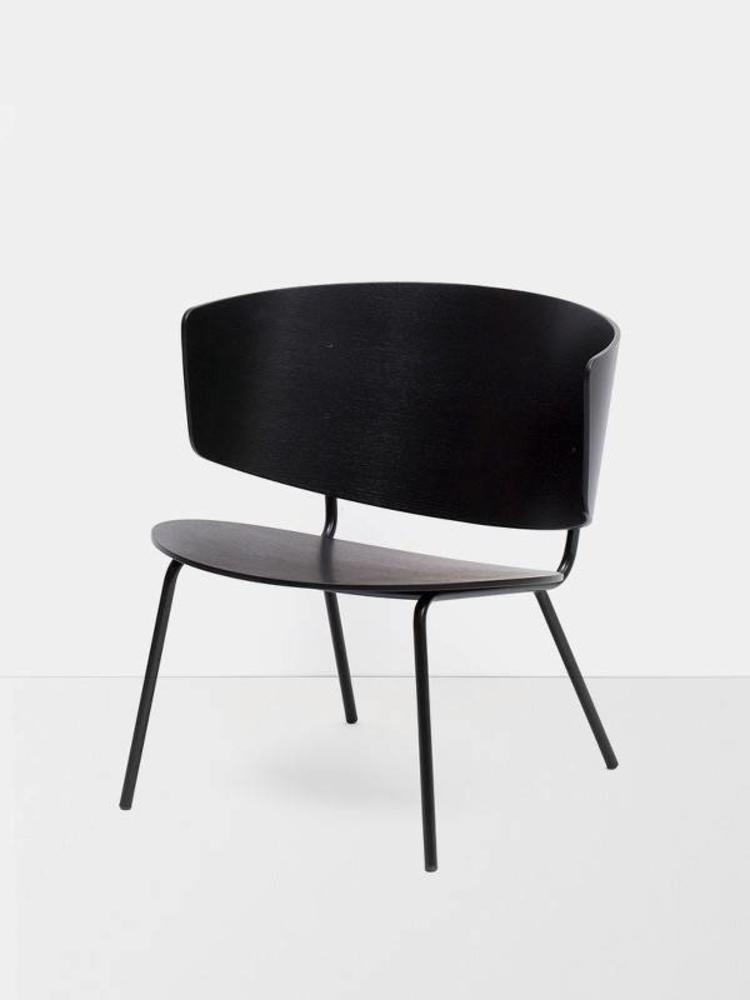ferm LIVING ferm LIVING Herman Lounge Chair Black