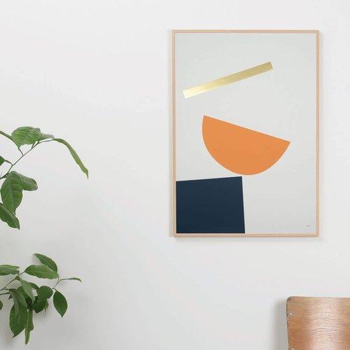 Tom Pigeon Balance 3 A2 Print