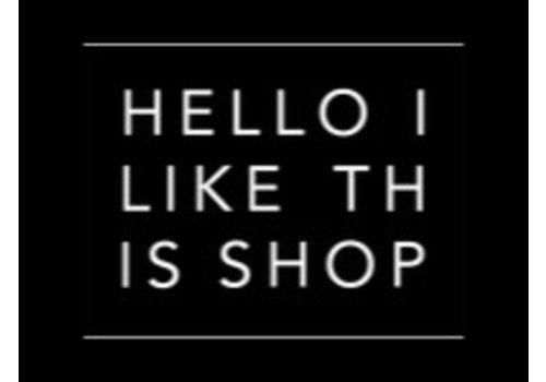hello I like this shop