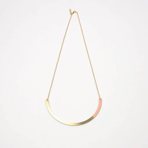 Tom Pigeon Form Necklace Circle - 5 New Colours
