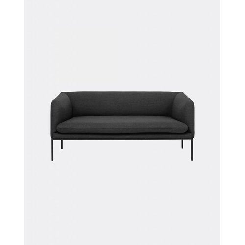 ferm LIVING Turn Sofa 2 Seater - Fiord by Kvardrat - 6 Colour Options
