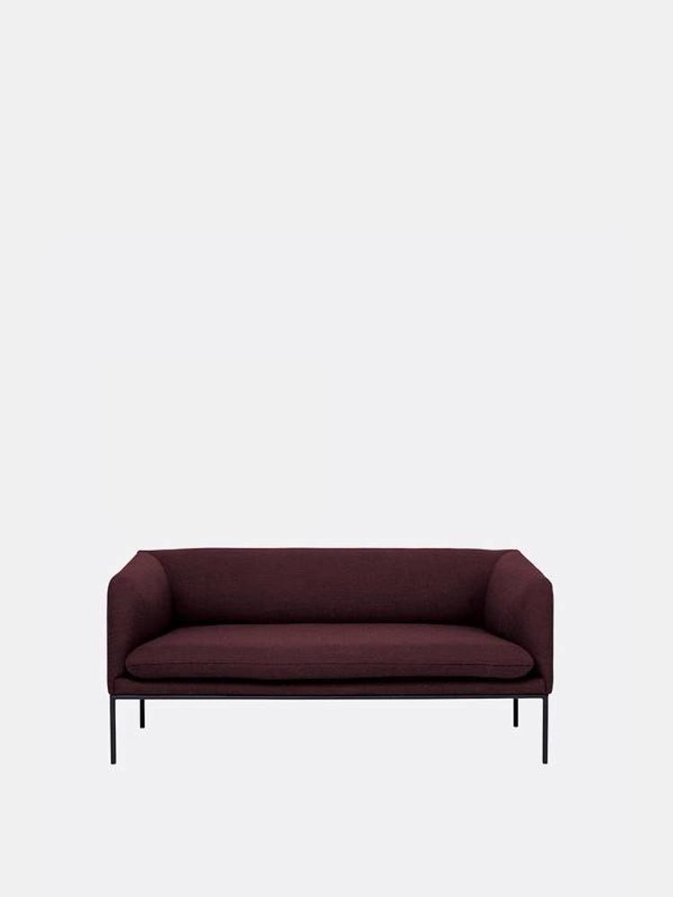 ferm LIVING Ferm Living Turn Sofa 2 Seater - Fiord by Kvardrat