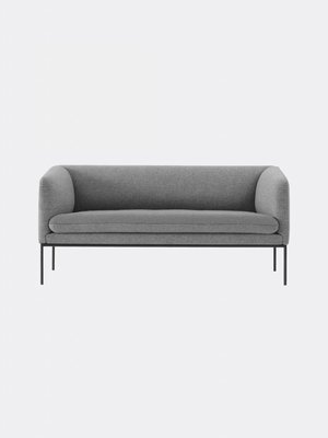 ferm LIVING Turn Sofa 2 Seater - Wool - 7 Colour Options