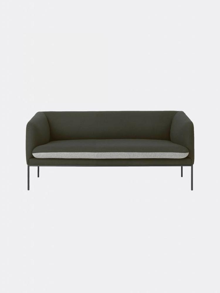 ferm LIVING ferm LIVING Turn Sofa 2 Seater - Wool