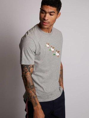 HYMN London HYMN 'QUACK!' Embroidered Ducks T-Shirt