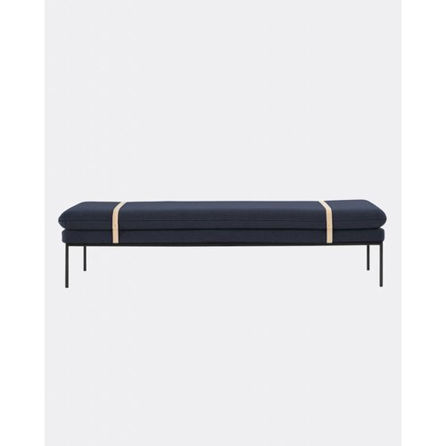 ferm LIVING Turn Daybed - Cotton - Harness Leather Straps  - 5 Colour Options