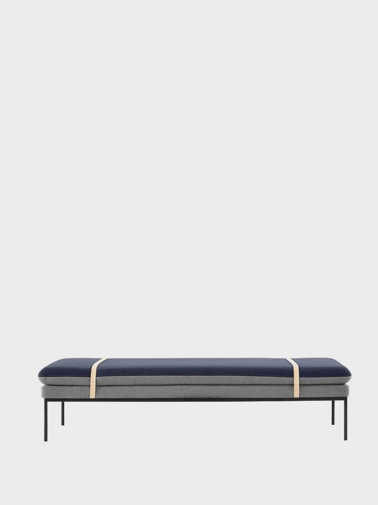ferm LIVING ferm LIVING Turn Daybed - Cotton - Harness Leather Straps