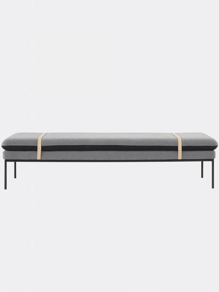 ferm LIVING Ferm Living Turn Daybed - Wool - Harness Leather Straps