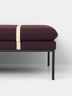 ferm LIVING ferm LIVING Turn Daybed - Fiord - Harness Leather Straps