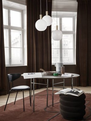 ferm LIVING Mingle Round Table Top Ø 130cm (Six Colour Choices)