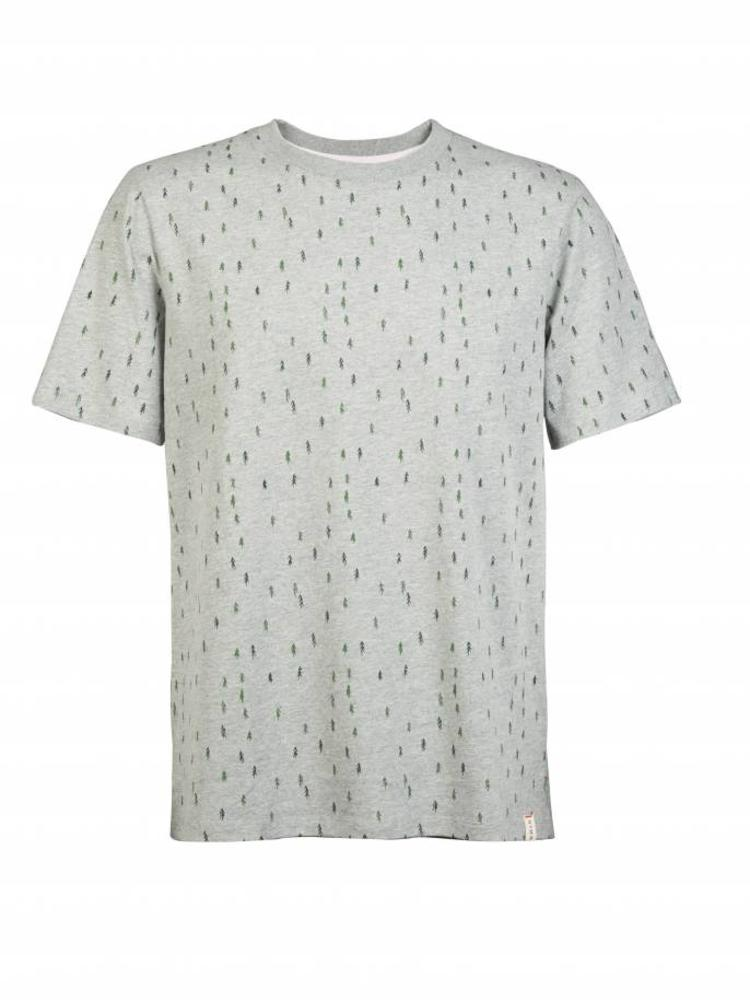 HYMN London HYMN 'TREES' Forest All Over Print Grey T-Shirt