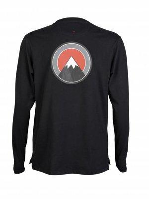 HYMN London HYMN 'SUMMIT' Mountain Emblem Long Sleeve Top