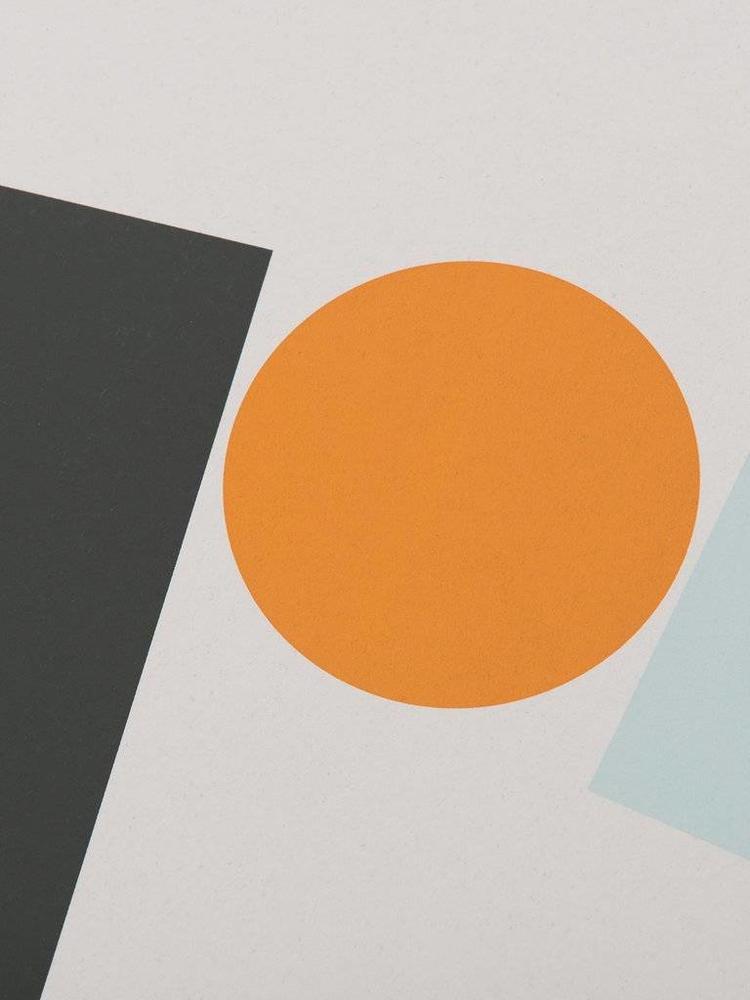 Tom Pigeon Tom Pigeon Block and Ball 1 A3 Print