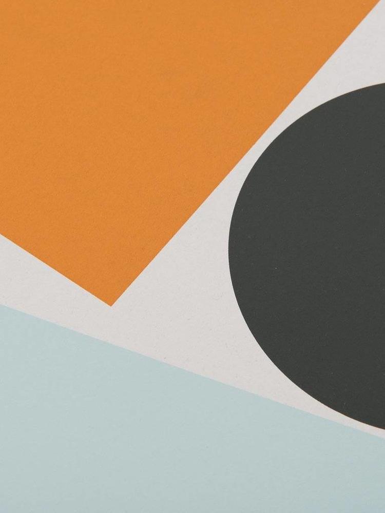 Tom Pigeon Tom Pigeon Block and Ball 2 A3 Print