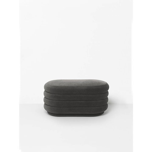 ferm LIVING Pouf Oval - Medium