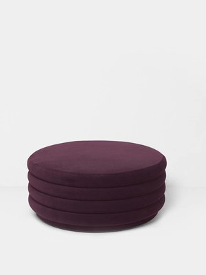 ferm LIVING Pouf Round - Large