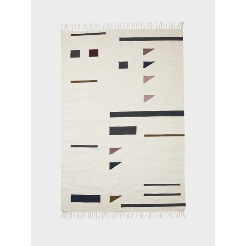 ferm LIVING Kelim Rug - Triangles - Large