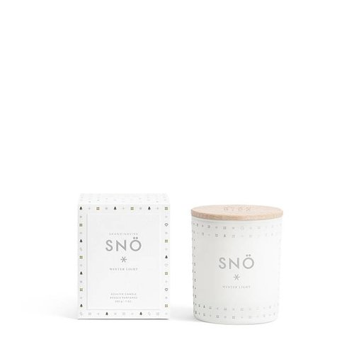SKANDINAVISK SNO 200gr Candle