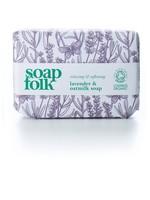 Soap Folk Lavender & Oatmilk Organic Soap