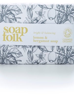 Soap Folk Lemon & Bergamot Organic Soap