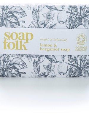Soap Folk Soap Folk Lemon & Bergamot Organic Soap