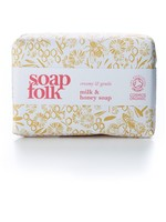 Soap Folk Milk & Honey Organic Soap