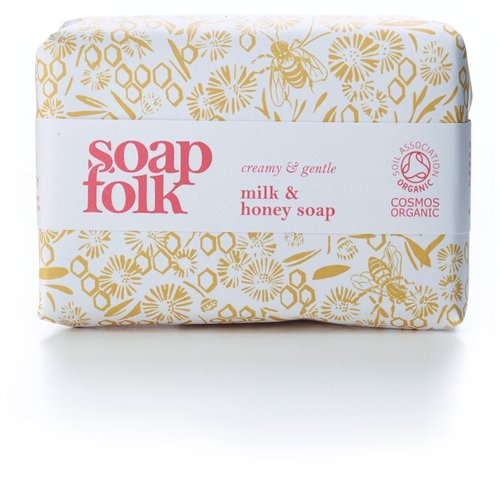 Soap Folk Milk & Honey Organic Soap