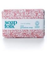 Soap Folk Rose Geranium Organic Soap