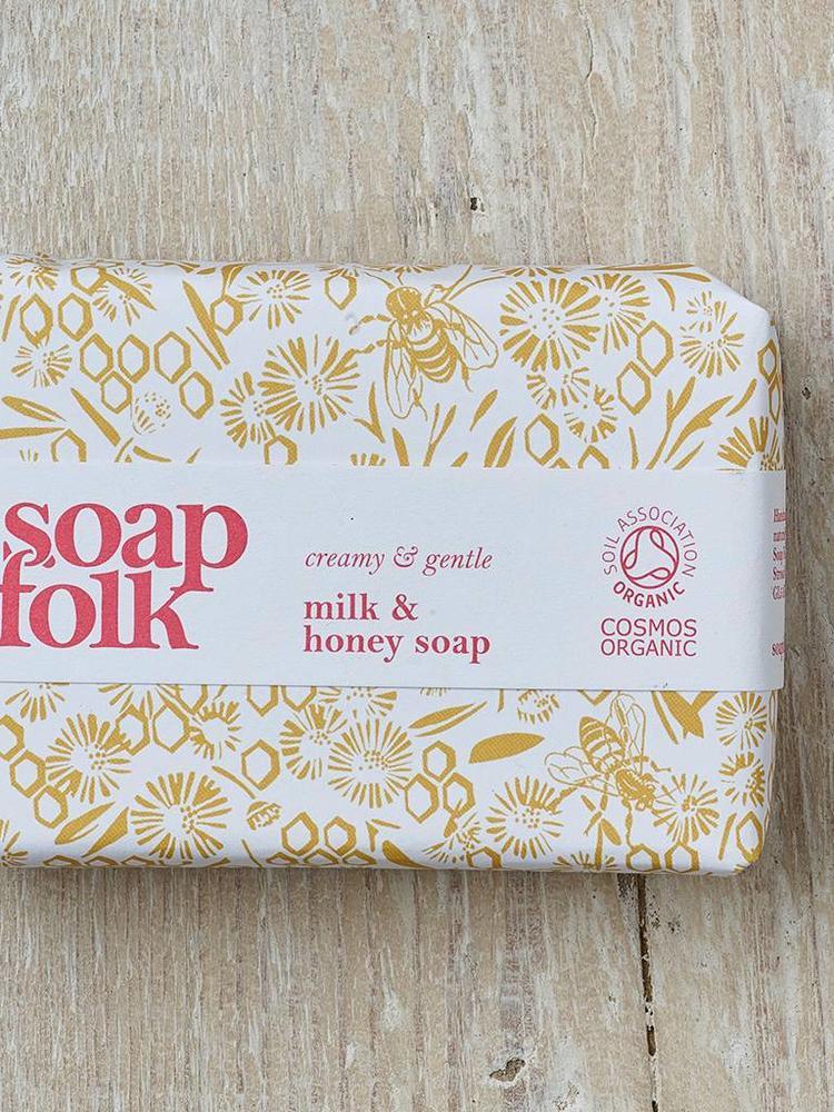 Soap Folk Soap Folk Milk & Honey Organic Soap